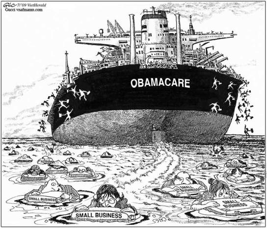 OBAMACARE, obamacartoon