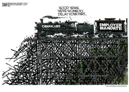 ObamaCare-Train-Wreck