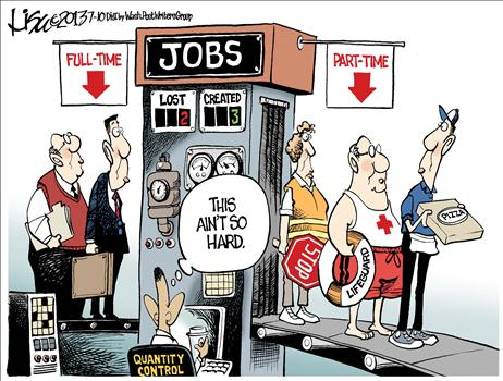 creating part time jobs