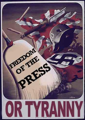 Freedom of the press or tyranny