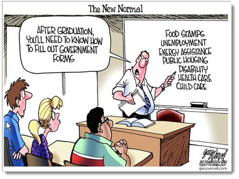 obama-economy-jobs-debt-deficit-political-cartoon-new-normal