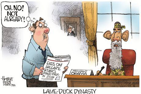 lame duck dynasty