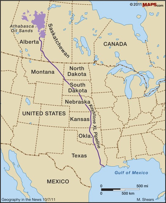 Keystone-XL-Pipeline-Proposed-Route