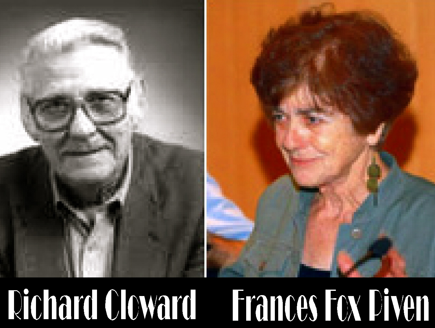 Strategy Piven Cloward Alinsky Saul