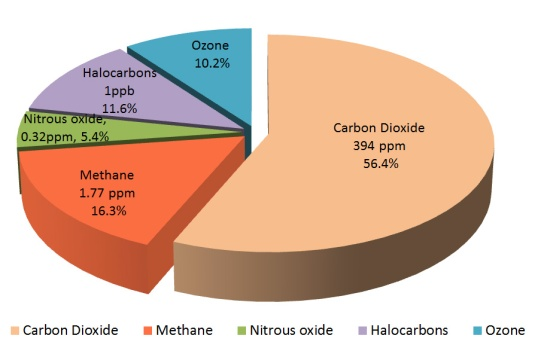 GreenhouseGasPercentages