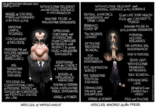 articles of impeachment cartoon