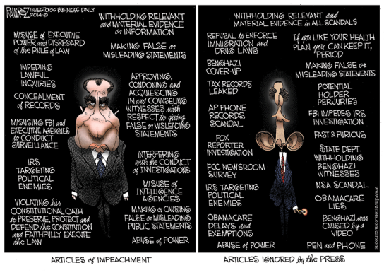 articles of impeachment cartoon