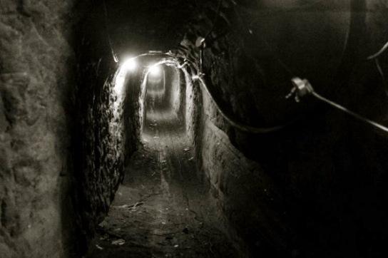 Gaza tunnel shaft