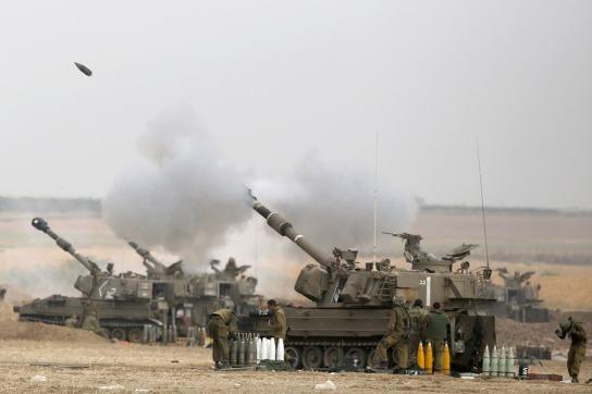 israel-tank-gaza