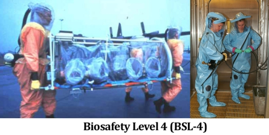 biosafety level 4 spacesuit