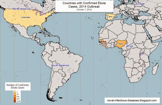 Ebola Countries