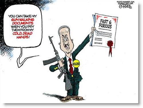 eric-holder-fast-and-furious-gunwalking-documents-political-cartoon