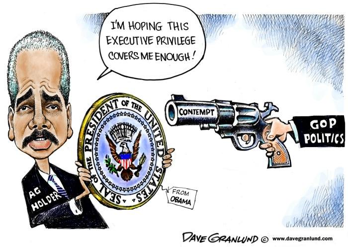 Eric Holder Cartoon