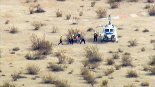 injured pilot