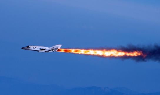 Virgin-Galactic-Spaceship-Two-test