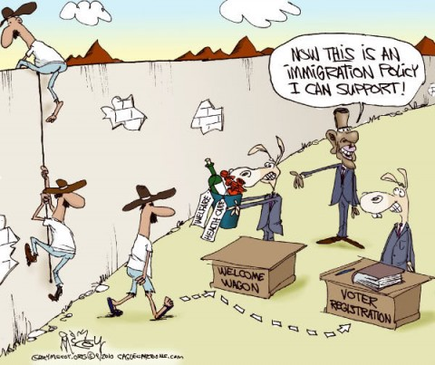 Illegal Immigration Cartoons