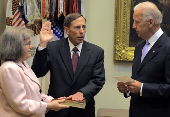 David Petraeus Sworn In As CIA Director