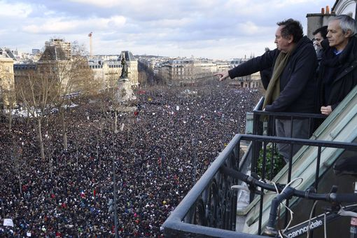 Paris-unity-march