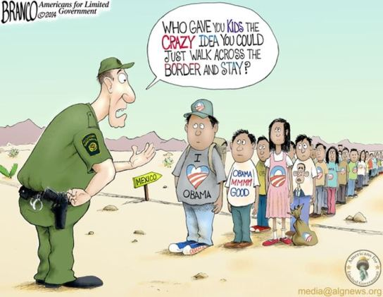 cartoon obama
