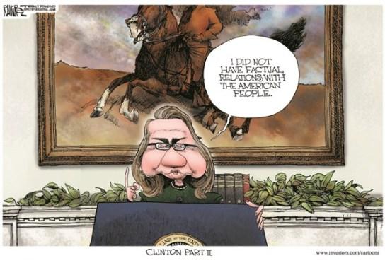hillary clinton factual relations