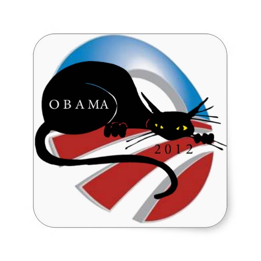 support_obama_cat_lovers_stickers