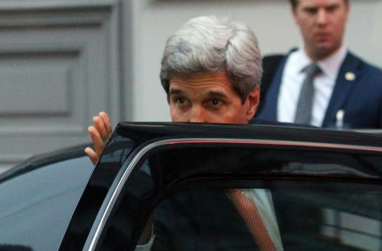 kerry leaves talks