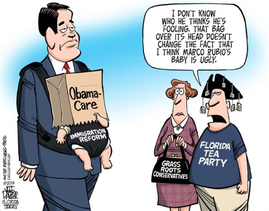 rubio cartoon immigration