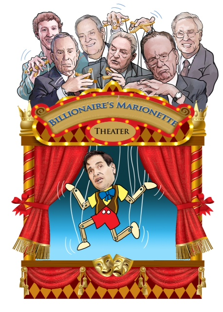 Rubio puppet