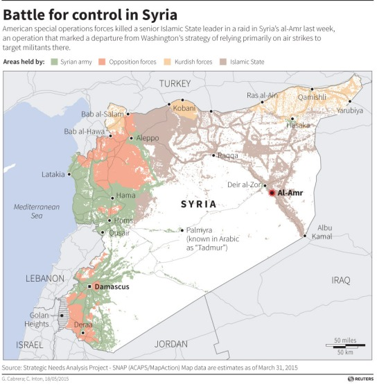Battle for control in Syria