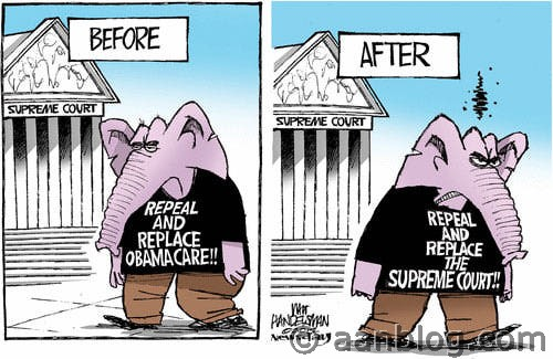 Before-After-SCOTUS-funny-obamacare-cartoon-supreme-court