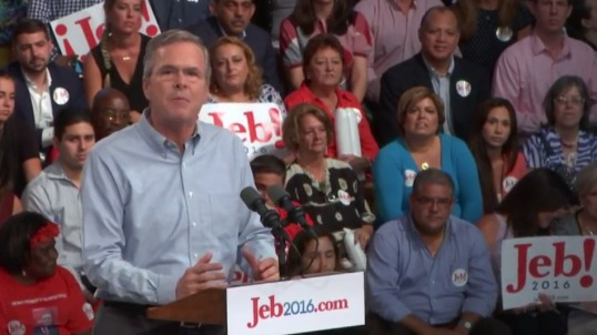 jeb bush runs