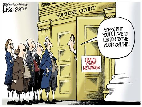 supreme court and obamacare, obama cartoons