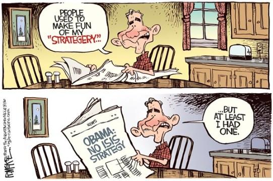 bush obama strategy