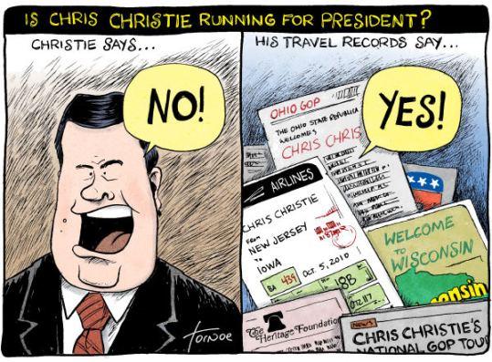 christie running