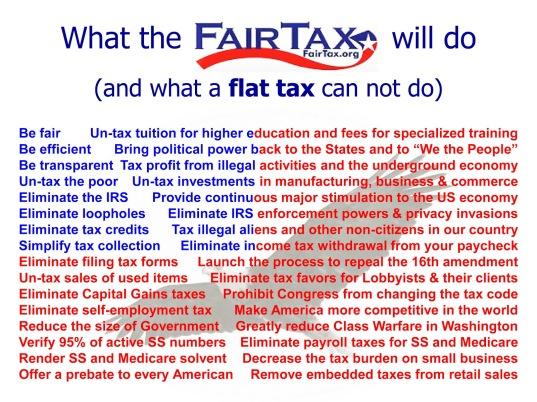 FairTax Flag 32jpg