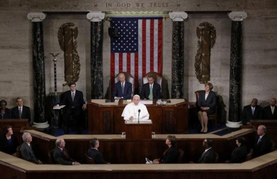 pope francis congress 2