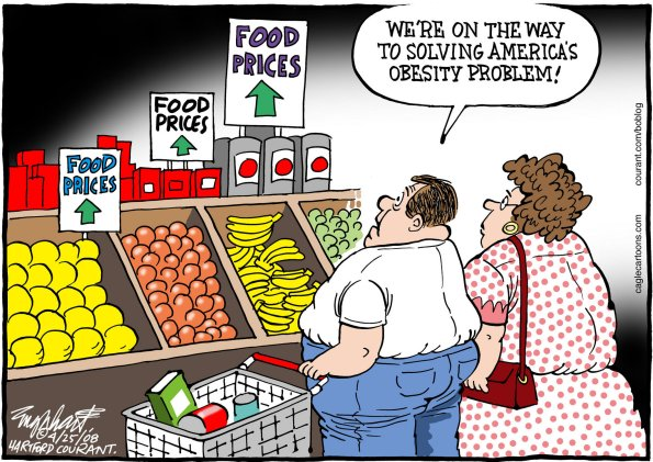 food prices and obesity