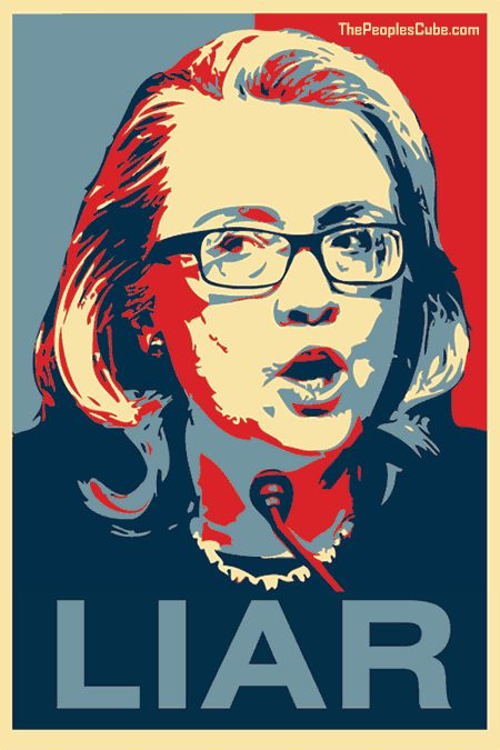 Hillary_Obama_Poster_Liar