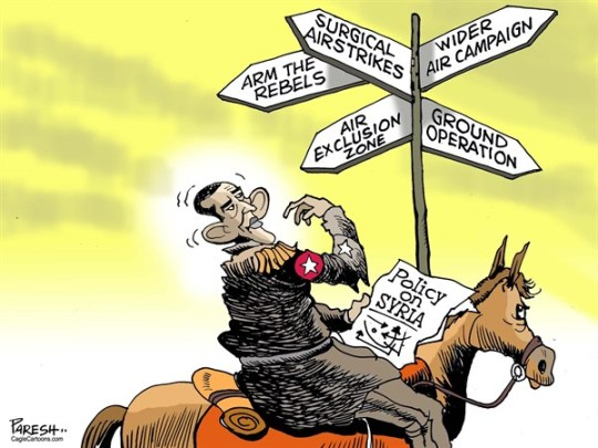obama policy on syria