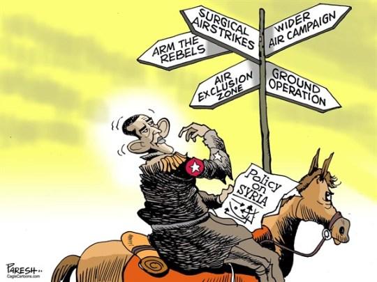 obama policy on syria