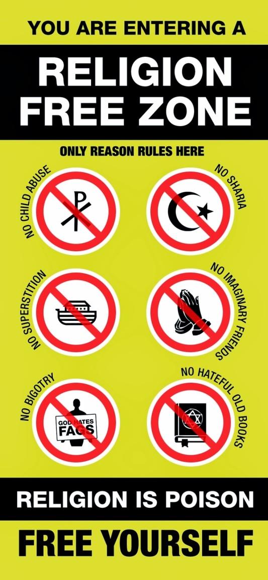 religion-free-zone
