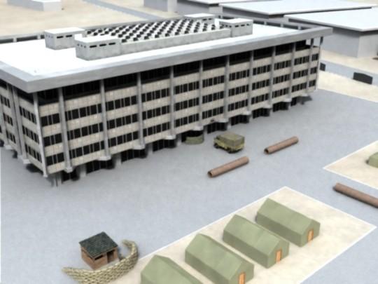 marine baracks