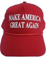 red trump cap