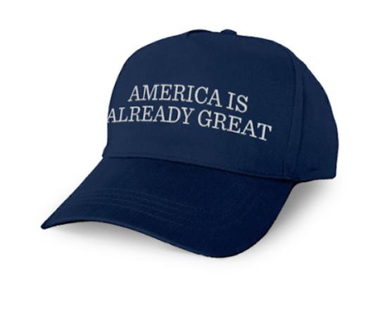 trump cap blue