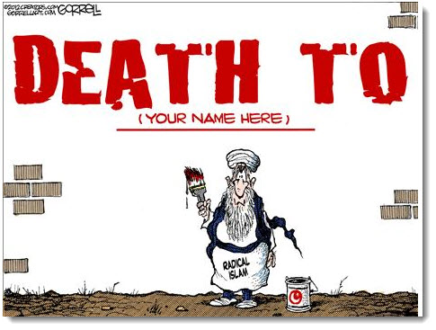 death-to-infidels-radical-islam-political-cartoon