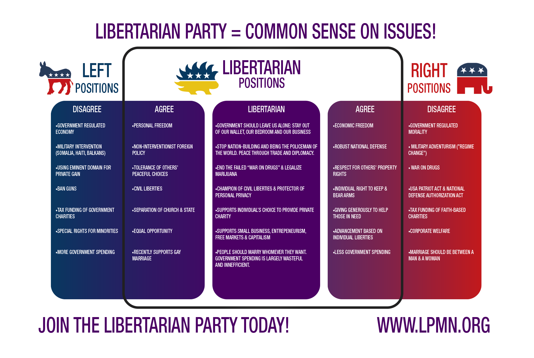 an analysis of the topic of the libertarian party Libertarian views in the republican party:  according to my analysis of american national  libertarian voters were a research topic of interest to a small.