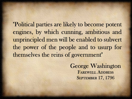 washington political parties