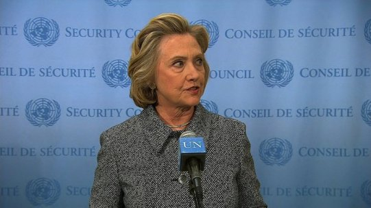 "Former secretary of State Hillary Clinton said on Tuesday, March 10, 2015 she used a private domain for her official work during her time at the State Department out of ""convenience,"" but admitted in retrospect ""it would have been better"" to use multiple emails."
