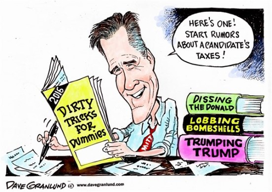 mitt romney attacks trump