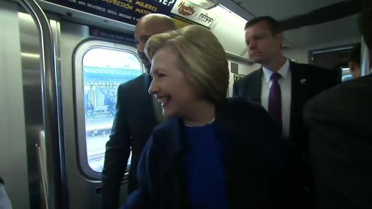 clinton service on subway